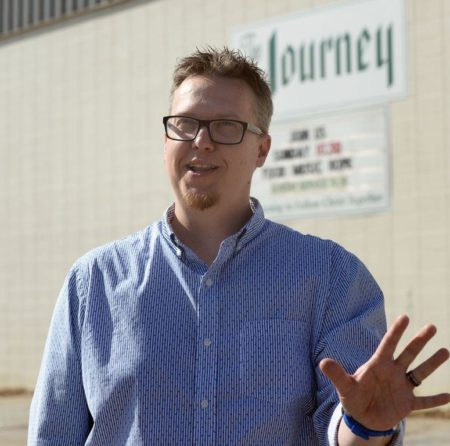 Chris Pollard, Pastor of The Journey in Spartanburg, encourages following Jesus even when it's hard