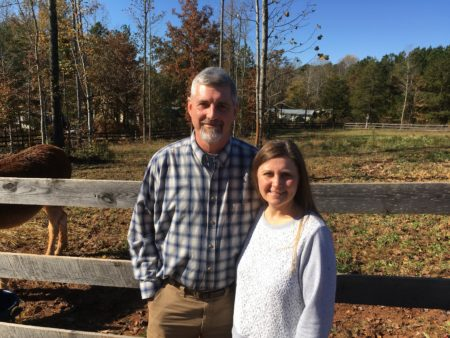 Scott and Wendy Hyder, parents of foster siblings