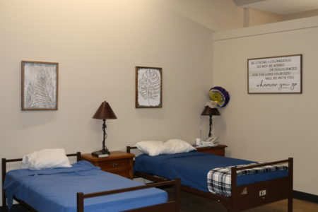 Respite care beds at Greenville Rescue Mission