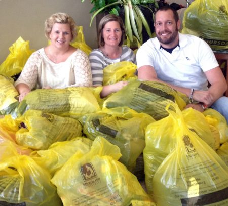 A Yellow Bag Project donation drive is an easy way for churches and organizations to get people involved in meeting the needs of the homeless.