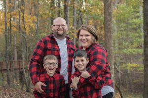 Ben and Cathy Lawer fostered and adopted two boys