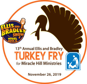 Ellis & Bradley Turkey Fry for Miracle Hill Ministries logo