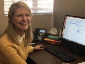 Tammy Wimmer, Case Manager for Miracle Hill food relief program