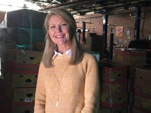 Tammy Wimmer at Miracle Hill Food Warehouse