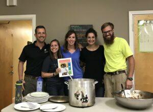CookUp volunteers mentor and teach life skills to teen boys